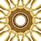 Orientalna złocista ornament tekstura Zdjęcie Stock