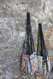 Orientalne stare miasto rynku torby Zdjęcie Stock