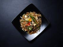 Orientalnej kuchni odżywiania veggie zdrowotny posiłek zdjęcie royalty free