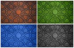 Orientalni ornamenty Obrazy Stock