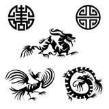 orientalni projektów elementy Obrazy Stock