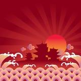 orientalny Ilustracja Wektor