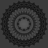 Orientalny Abstrakcjonistyczny wektoru wzór Zdjęcia Stock