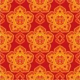 Orientalny Bezszwowy Wzór Zdjęcie Royalty Free