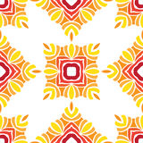 Orientalny Bezszwowy Wzór Zdjęcia Royalty Free