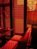 Orientalny czerwony pokój Obraz Royalty Free
