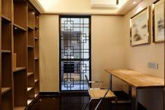 Orientalny czytelniczy pokój Zdjęcia Stock