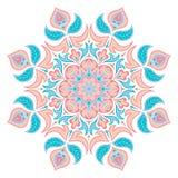 Orientalny dekoracyjny element Islam, język arabski, indianin, ottoman motywy Zdjęcia Royalty Free