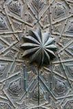 Orientalny drzwiowy szczegół Zdjęcia Stock