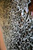Orientalny drzwiowy szczegół Obraz Stock