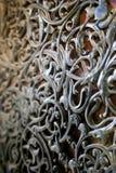 Orientalny drzwiowy szczegół Fotografia Stock