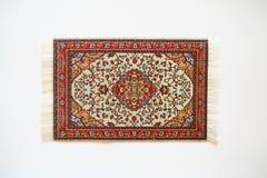 orientalny dywan Obrazy Royalty Free