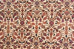 orientalny dywan Zdjęcia Stock