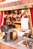 Orientalny kawa dom w Istanbuł, Turcja zdjęcie royalty free
