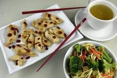 Orientalny kurczaka danie główne Obrazy Royalty Free