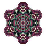 Orientalny mandala wektor zdjęcia stock