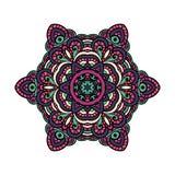 Orientalny mandala wektor zdjęcie royalty free