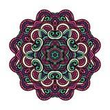 Orientalny mandala wektor fotografia royalty free