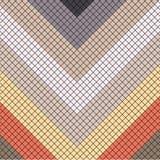Orientalny mozaika wzoru tło ilustracja wektor