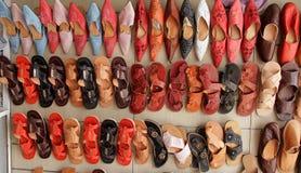 Orientalny obuwie Zdjęcia Stock
