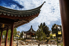 orientalny ogrodu Obrazy Royalty Free