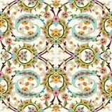 Orientalny ottoman projekt czterdzieści Obrazy Stock