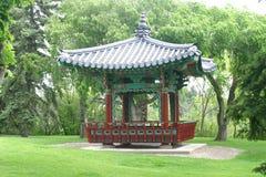 orientalny pagoda park Obrazy Royalty Free