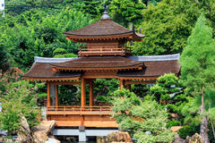 Orientalny pawilon absolutna doskonałość w Nan Liana ogródzie, Obrazy Stock