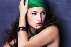Orientalny piękno Zdjęcia Royalty Free