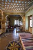 Orientalny pokój przy Oberhofen kasztelem, Szwajcaria Obraz Royalty Free