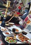 Orientalny posiłek Zdjęcia Royalty Free