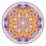 Orientalny różyczka wzór Zdjęcie Stock