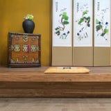 Orientalny stylu rocznika luksusu livin (koreańczyk, japończyk, chińczyk,) Fotografia Stock