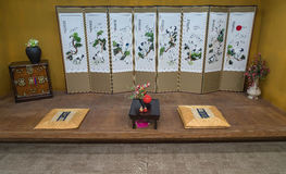 Orientalny stylu rocznika luksusu livin (koreańczyk, japończyk, chińczyk,) Obraz Royalty Free