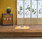Orientalny stylu rocznika luksusu livin (koreańczyk, japończyk, chińczyk,) Obrazy Royalty Free