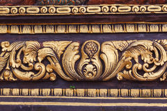Orientalny tło: Bali styl Fotografia Stock
