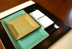orientalny talerz Zdjęcie Royalty Free
