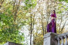 Orientalny tancerz Zdjęcie Royalty Free