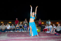 orientalny tancerzem Fotografia Royalty Free