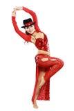 Orientalny tango tancerz Zdjęcia Stock