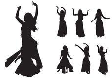 Orientalny taniec Zdjęcia Stock