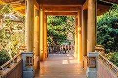 Orientalny złocisty pawilon absolutna doskonałość Zdjęcia Stock