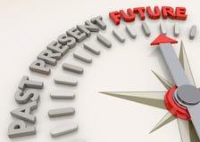 Orientamento futuro - 3D illustrazione di stock