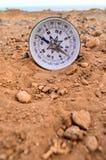 Orientation Concept Metal Compass Stock Image