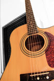 Orientation sélectrice de guitare acoustique Photo stock