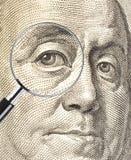 Orientation sur l'argent Photographie stock libre de droits