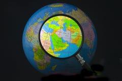 Oriente Medio en foco Foto de archivo libre de regalías