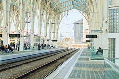 Oriente Railway Station stock image