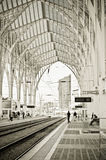 Oriente Railway Station Royalty Free Stock Image
