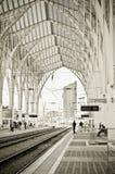 Oriente Railway Station royalty free stock image
